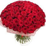 Букеты из 101 розы - flowers and bouquets on flora.lg.ua