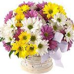 Цветочные корзины - flowers and bouquets on flora.lg.ua