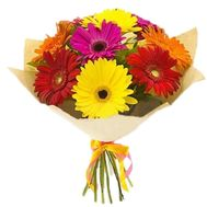 Bouquet of gerberas - flowers and bouquets on flora.lg.ua