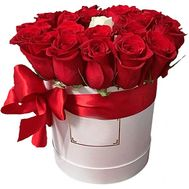 A box of roses for a single - flowers and bouquets on flora.lg.ua
