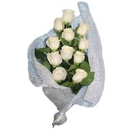 Bouquet of flowers - White night - flowers and bouquets on flora.lg.ua