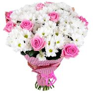 Bouquet of flowers - Violetta - flowers and bouquets on flora.lg.ua