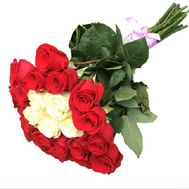 Bouquet of imported roses - Blanche - flowers and bouquets on flora.lg.ua