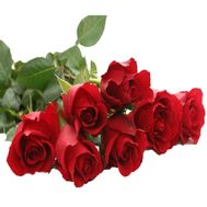 Bouquet of imported roses - Shining stars - flowers and bouquets on flora.lg.ua