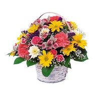 Flower basket - Darianne - flowers and bouquets on flora.lg.ua