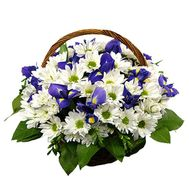 Flower basket - Elena - flowers and bouquets on flora.lg.ua
