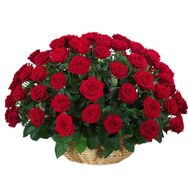 Flower basket - Sophistication - flowers and bouquets on flora.lg.ua