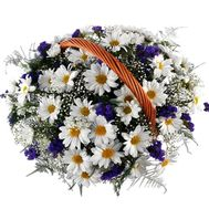 Flower basket - Catherine - flowers and bouquets on flora.lg.ua