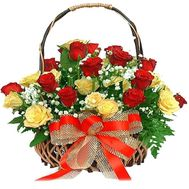 Flower basket - Royal gift - flowers and bouquets on flora.lg.ua