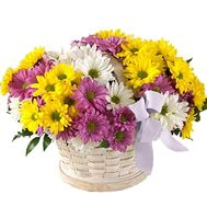 Flower basket - Leila - flowers and bouquets on flora.lg.ua