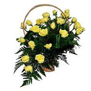 Flower basket - Nostalgia - flowers and bouquets on flora.lg.ua