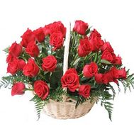 Flower basket - I miss you - flowers and bouquets on flora.lg.ua