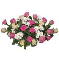 Basket of flowers - Albina - flowers and bouquets on flora.lg.ua