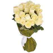 Bouquet of imported roses - Satin trembling - flowers and bouquets on flora.lg.ua