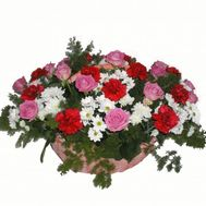 Basket of flowers - Erica - flowers and bouquets on flora.lg.ua