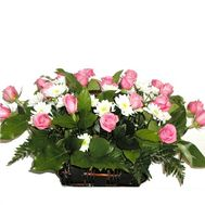 Basket of flowers - Libya - flowers and bouquets on flora.lg.ua