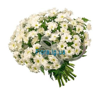 """""""A beautiful bouquet of white chamomiles"""" in the online flower shop flora.lg.ua"""