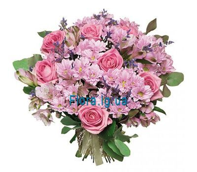 """Lovely bouquet of flowers"" in the online flower shop flora.lg.ua"