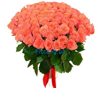 """101 orange rose"" in the online flower shop flora.lg.ua"