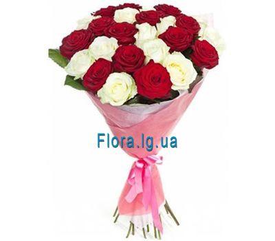 """Bouquet of roses - Natalia"" in the online flower shop flora.lg.ua"